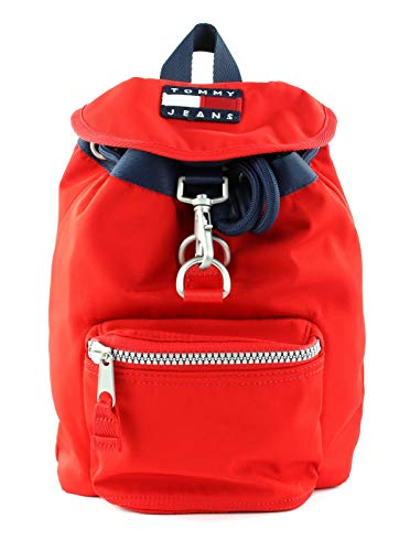 Tommy Hilfiger TJW Heritage Small Backpack Nylon Racing Red